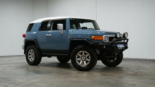 Used Toyota FJ Cruiser GSJ15R MY14 Welshpool, 2014 Toyota FJ Cruiser GSJ15R MY14 Retro Blue 5 Speed Automatic Wagon