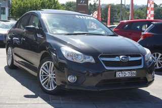 2014 Subaru Impreza G4 MY14 2.0i Lineartronic AWD Black 6 Speed Constant Variable Hatchback.