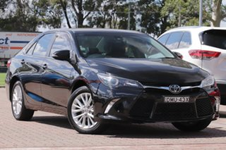 2017 Toyota Camry ASV50R Atara SL Black 6 Speed Sports Automatic Sedan.