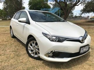 2018 Toyota Corolla Corolla Ascent Sport 1.8L Petrol CVT 5 Door Hatch 4E67950 00 White Hatchback.