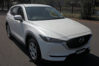 2018 Mazda CX-5 KF2W7A Maxx SKYACTIV-Drive FWD White 6 Speed Sports Automatic Wagon.