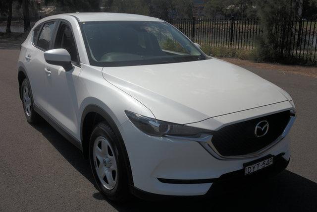 Used Mazda CX-5 KF2W7A Maxx SKYACTIV-Drive FWD Maryville, 2018 Mazda CX-5 KF2W7A Maxx SKYACTIV-Drive FWD White 6 Speed Sports Automatic Wagon