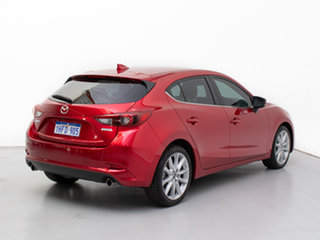 2018 Mazda 3 BN MY17 SP25 GT Red 6 Speed Automatic Hatchback