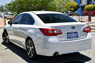 2015 Subaru Liberty B6 MY15 2.5i CVT AWD Crystal White 6 Speed Constant Variable Sedan.