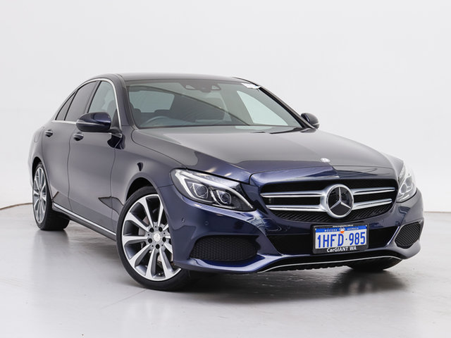 Used Mercedes-Benz C250 205 BlueTEC, 2015 Mercedes-Benz C250 205 BlueTEC Blue 7 Speed Automatic Sedan