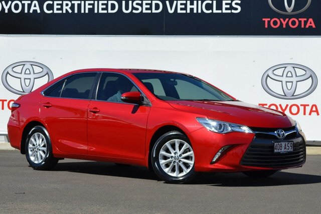 Pre-Owned Toyota Camry ASV50R MY15 Altise Warwick, 2015 Toyota Camry ASV50R MY15 Altise Wildfire 6 Speed Automatic Sedan