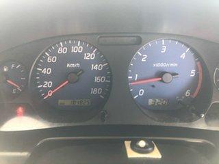 2006 Nissan Navara D22 ST-R (4x4) Silver 5 Speed Manual Cab Chassis