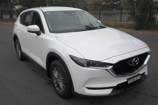 2018 Mazda CX-5 KF4WLA Maxx SKYACTIV-Drive i-ACTIV AWD Sport White 6 Speed Sports Automatic Wagon