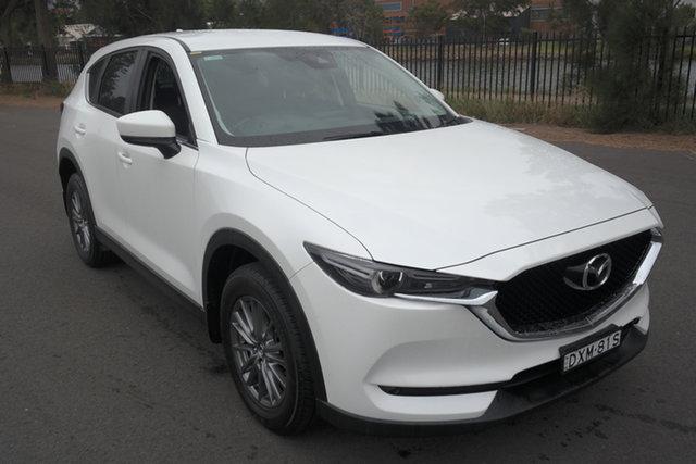 Used Mazda CX-5 KF4WLA Maxx SKYACTIV-Drive i-ACTIV AWD Sport Maryville, 2018 Mazda CX-5 KF4WLA Maxx SKYACTIV-Drive i-ACTIV AWD Sport White 6 Speed Sports Automatic Wagon