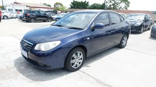 2008 Hyundai Elantra HD SX Blue 4 Speed Automatic Sedan.