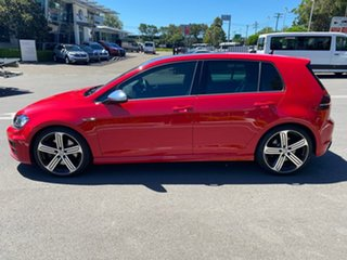 2016 Volkswagen Golf VII MY17 R DSG 4MOTION Red 6 Speed Sports Automatic Dual Clutch Hatchback