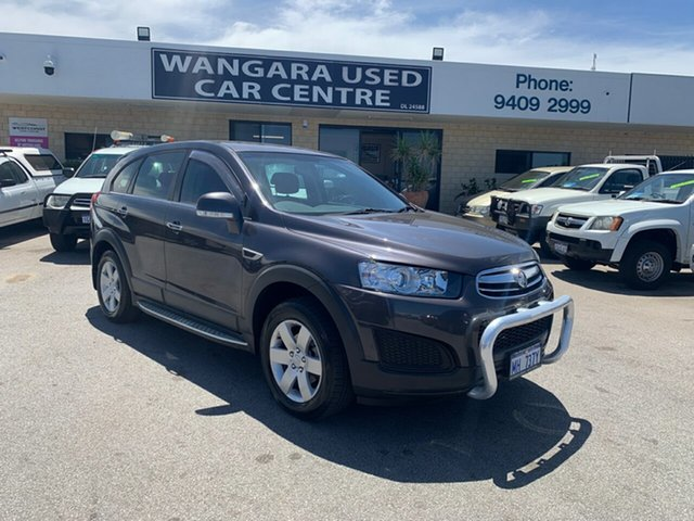 Used Holden Captiva CG MY15 7 LS (FWD) Wangara, 2015 Holden Captiva CG MY15 7 LS (FWD) Grey 6 Speed Automatic Wagon