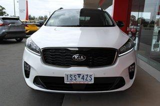 2020 Kia Sorento UM MY20 Black Edition AWD White 8 Speed Sports Automatic Wagon.