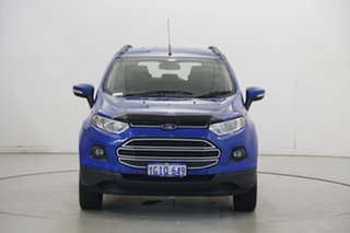 2017 Ford Ecosport BK Trend PwrShift Blue 6 Speed Sports Automatic Dual Clutch Wagon.