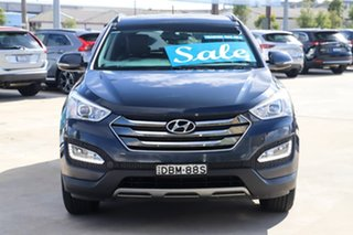 2015 Hyundai Santa Fe DM2 MY15 Elite Blue 6 Speed Sports Automatic Wagon
