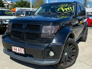 2007 Dodge Nitro KA MY07 SXT Black 5 Speed Sports Automatic Wagon.