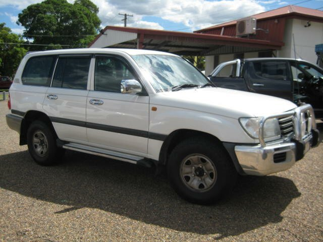 Used Toyota Landcruiser North Ipswich, 2005 Toyota Landcruiser White Automatic Wagon