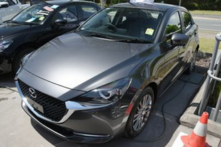 2021 Mazda 2 DJ2HAA G15 SKYACTIV-Drive Evolve Machine Grey 6 Speed Sports Automatic Hatchback.