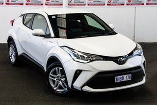 2020 Toyota C-HR NGX10R S-CVT 2WD Crystal Pearl 7 Speed Constant Variable Wagon.
