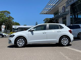 2020 Volkswagen Polo AW MY20 70TSI DSG Trendline White 7 Speed Sports Automatic Dual Clutch