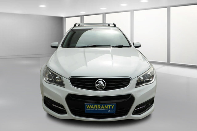 Used Holden Commodore VF MY14 SV6 Sportwagon West Footscray, 2013 Holden Commodore VF MY14 SV6 Sportwagon White 6 Speed Sports Automatic Wagon