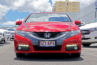 2013 Honda Civic 9th Gen MY13 VTi-L Red 5 Speed Sports Automatic Hatchback.