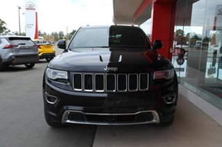 2013 Jeep Grand Cherokee WK MY2014 Overland Black 8 Speed Sports Automatic Wagon.