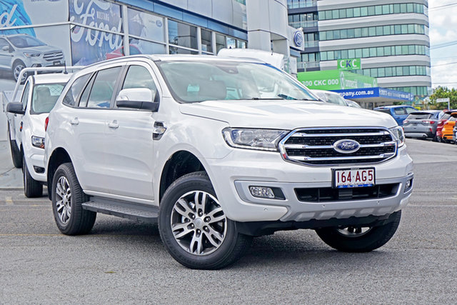 Used Ford Everest UA II 2020.75MY Trend Springwood, 2020 Ford Everest UA II 2020.75MY Trend White 6 Speed Sports Automatic SUV