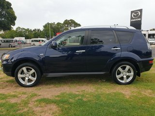 2010 Mitsubishi Outlander ZH MY10 VR Blue 6 Speed Sports Automatic Wagon