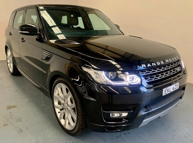 Used Land Rover Range Rover Sport L494 17MY SE Newcastle West, 2017 Land Rover Range Rover Sport L494 17MY SE Black 8 Speed Sports Automatic Wagon