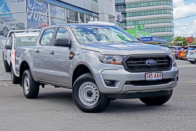 Used Ford Ranger PX MkIII 2020.75MY XL Springwood, 2020 Ford Ranger PX MkIII 2020.75MY XL Silver 6 Speed Sports Automatic Double Cab Pick Up