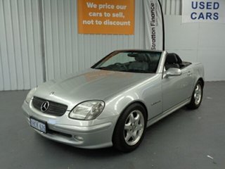 2003 Mercedes-Benz SLK-Class R170 SLK200 Kompressor Silver 5 Speed Automatic Roadster.