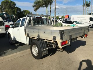 2015 Isuzu D-MAX MY15 SX Space Cab White 5 speed Automatic Cab Chassis