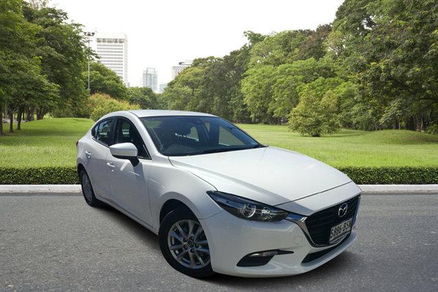 Used Mazda 3 BN5278 Neo SKYACTIV-Drive Paradise, 2017 Mazda 3 BN5278 Neo SKYACTIV-Drive White 6 Speed Sports Automatic Sedan