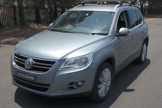 2010 Volkswagen Tiguan 5N MY10 147TSI 4MOTION Grey 6 Speed Sports Automatic Wagon.