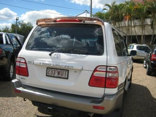 2005 Toyota Landcruiser White Automatic Wagon