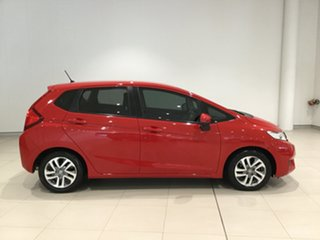 2015 Honda Jazz GF MY15 VTi Red 5 Speed Manual Hatchback.