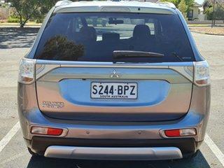 2015 Mitsubishi Outlander ZJ MY14.5 PHEV AWD Grey 1 Speed Automatic Wagon Hybrid.