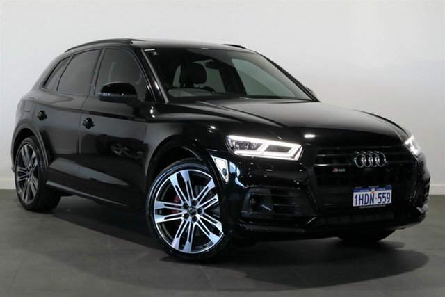 Used Audi SQ5 FY MY19 Black Edition Tiptronic Quattro Bayswater, 2019 Audi SQ5 FY MY19 Black Edition Tiptronic Quattro Black 8 Speed Sports Automatic Wagon