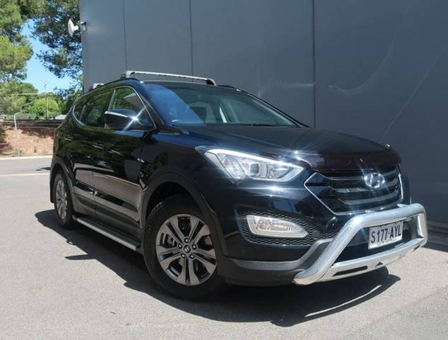 Used Hyundai Santa Fe DM MY13 Active Reynella, 2013 Hyundai Santa Fe DM MY13 Active Black 6 Speed Sports Automatic Wagon