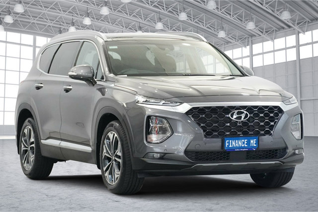 Used Hyundai Santa Fe TM.2 MY20 Highlander Victoria Park, 2020 Hyundai Santa Fe TM.2 MY20 Highlander Magnetic Force 8 Speed Sports Automatic Wagon