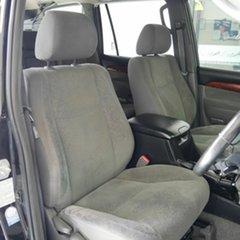2006 Toyota Landcruiser Prado GRJ120R VX Black 5 Speed Automatic Wagon