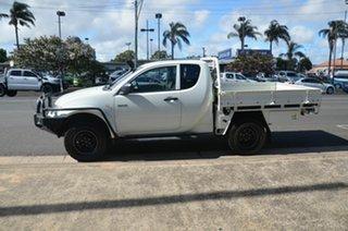 2013 Mitsubishi Triton MN MY13 GLX (4x4) White 5 Speed Manual Club Cab Utility