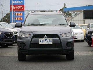 2010 Mitsubishi Outlander ZH LS Grey Manual Wagon.