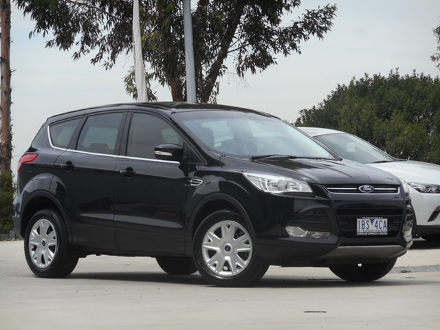 Used Ford Kuga TF Ambiente AWD Ravenhall, 2013 Ford Kuga TF Ambiente AWD Black 6 Speed Sports Automatic Wagon