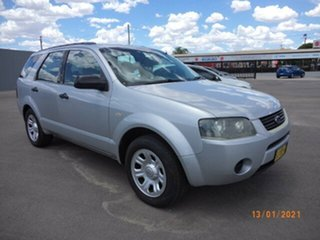 2005 Ford Territory SY TX (RWD) Silver Metallic 4 Speed Auto Seq Sportshift Wagon.