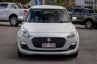 2017 Suzuki Swift AZ GL White 1 Speed Constant Variable Hatchback.