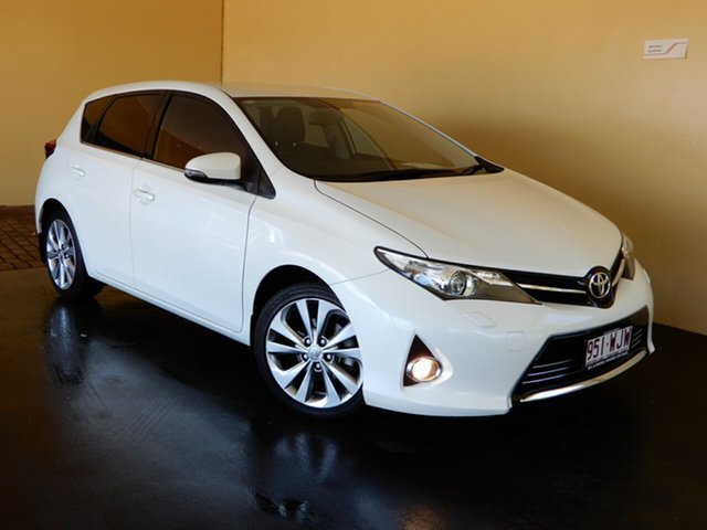 Used Toyota Corolla ZRE182R Levin ZR Toowoomba, 2014 Toyota Corolla ZRE182R Levin ZR White 7 Speed CVT Auto Sequential Hatchback