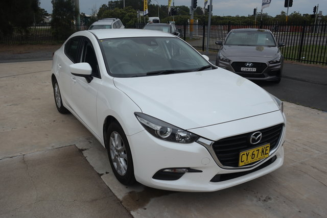 Used Mazda 3 BM5278 Neo SKYACTIV-Drive Maryville, 2016 Mazda 3 BM5278 Neo SKYACTIV-Drive White 6 Speed Sports Automatic Sedan