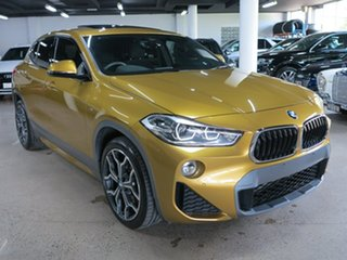 2018 BMW X2 F39 sDrive20i Coupe DCT Steptronic M Sport X Galvanic Gold 7 Speed.
